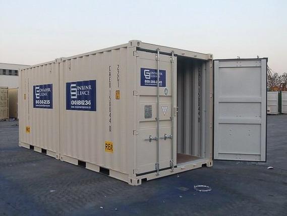 10' One Trip Container  Precut