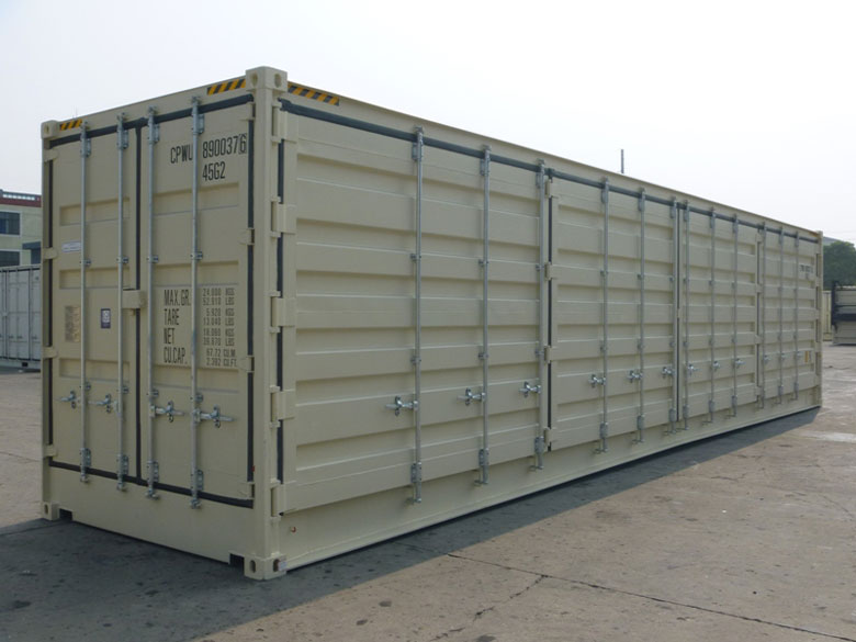 40' Open Side One Trip Container Doors