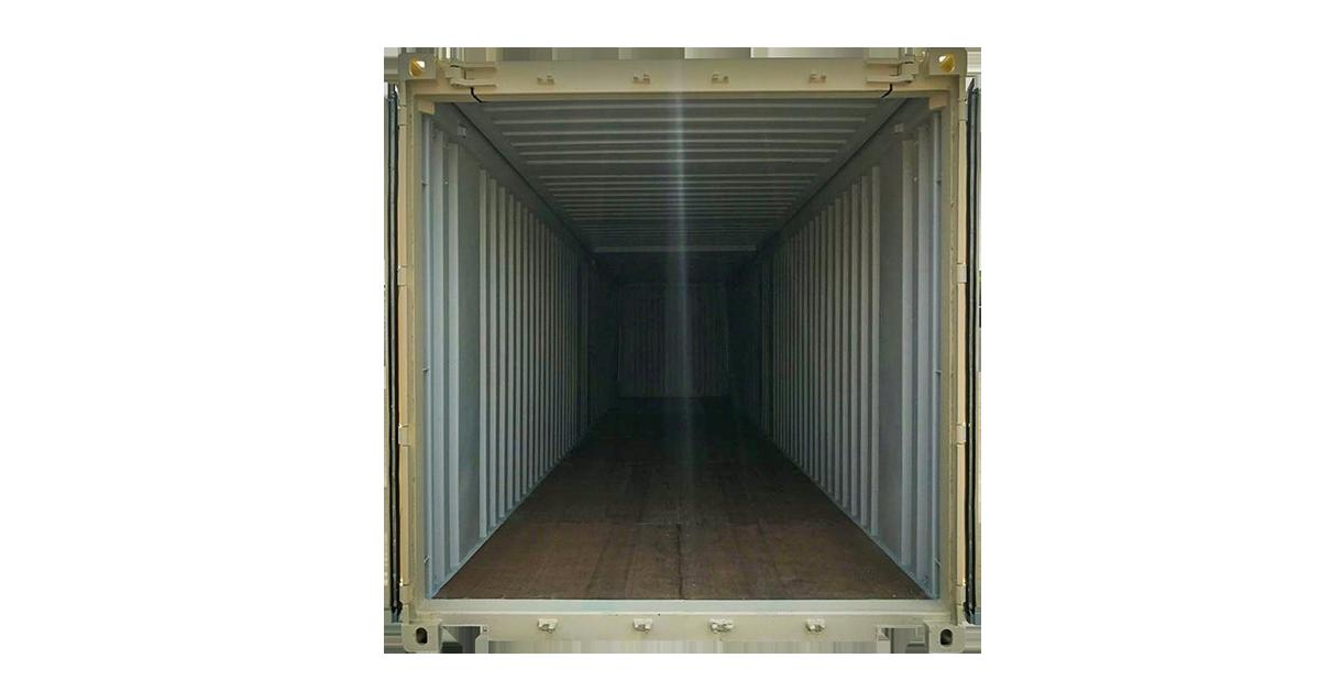 40' Hard Top One Trip Container Doors