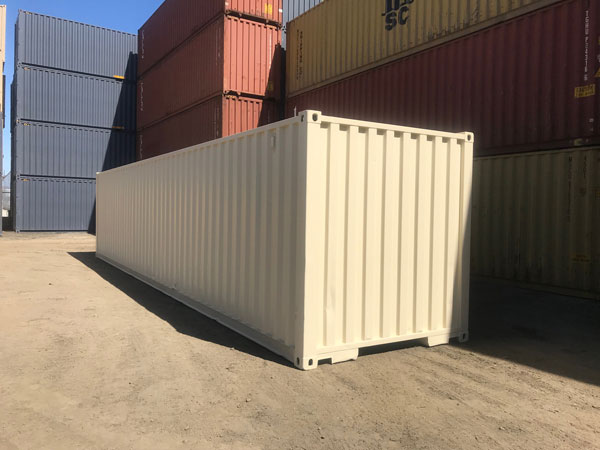40' Refurbished Container Left