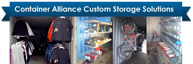 Custom Storage Container Sales