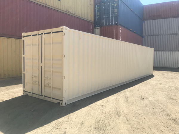40' High Cube Refurbished Used Container