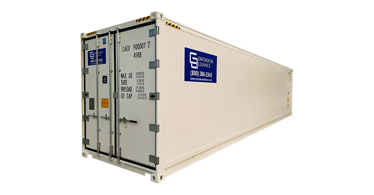 40HC One Trip Refrigerated Container