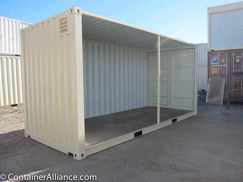 20' High Cube Container Conference Room