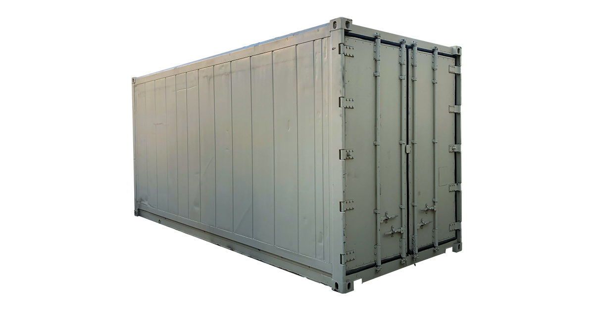 20' Non Working Insulated Container