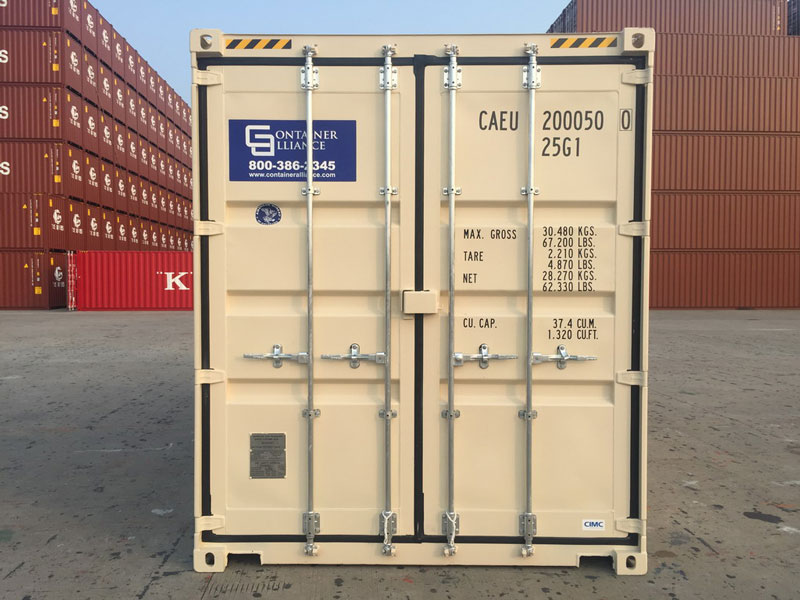 20' One Trip Container Front