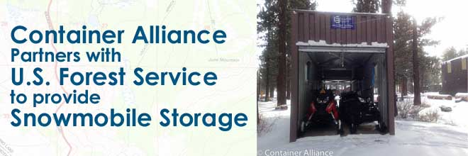 Creative Uses – U.S. Forest Service Snowmobile Storage