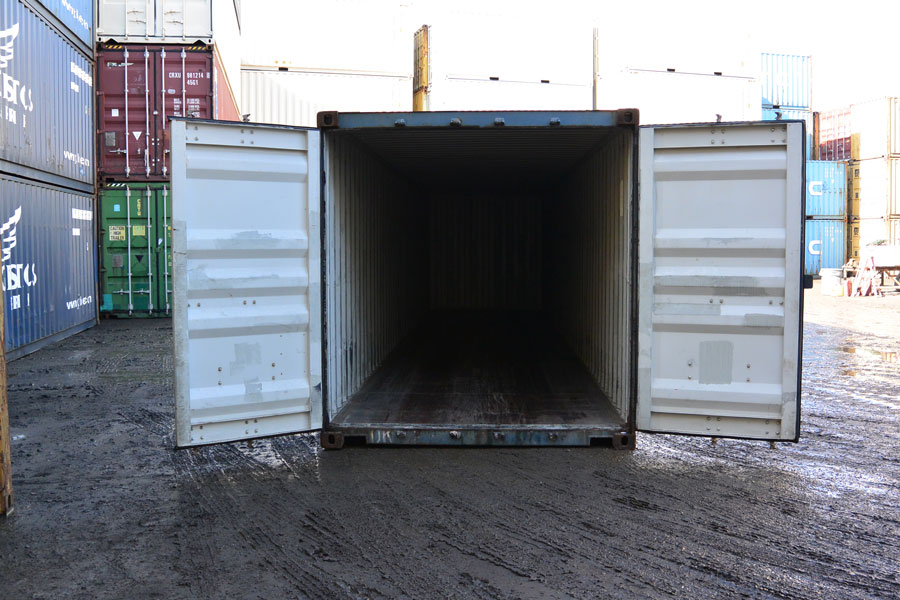40' Cargo Worthy Front