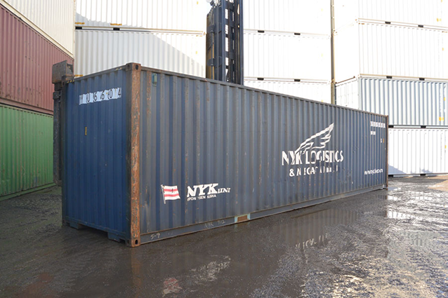 40' Hight Cube Cargo Worthy Container
