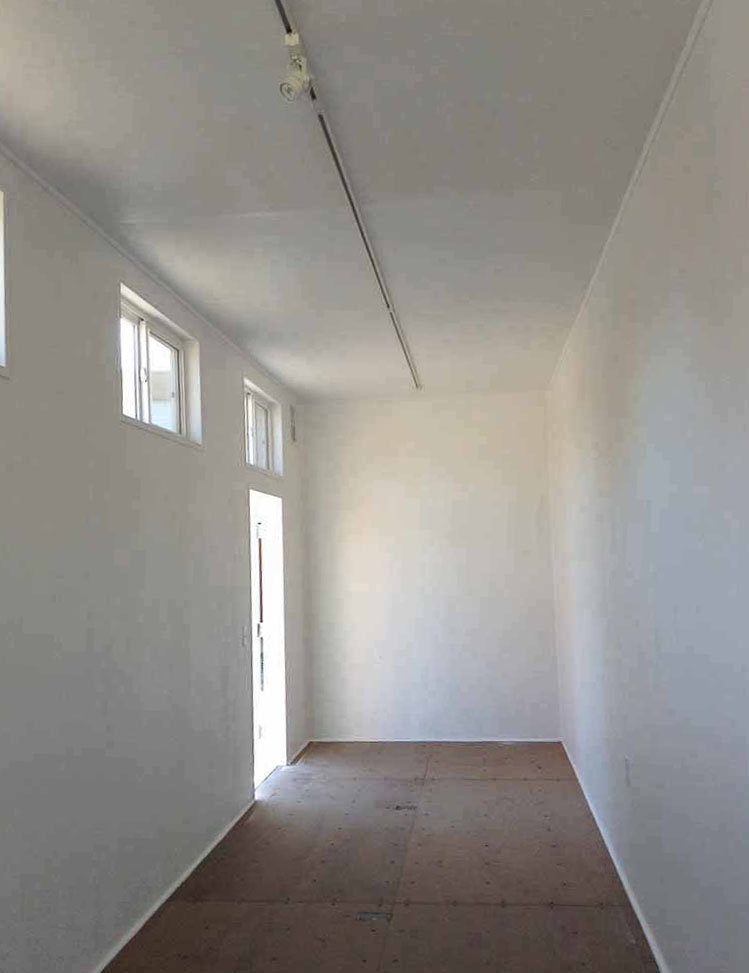 Ojai Artist Studio Interior
