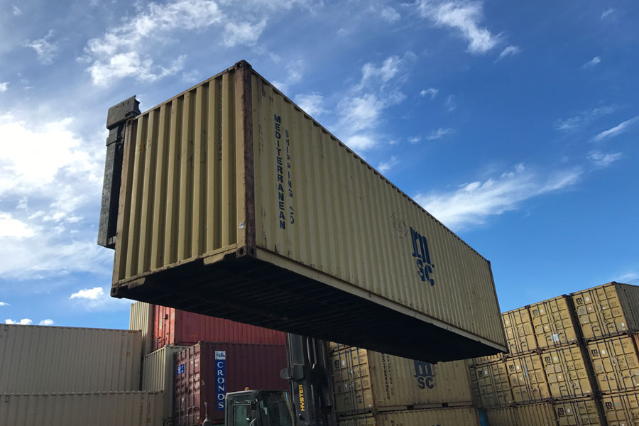 40' High Cube Cargo Worthy Container Lift