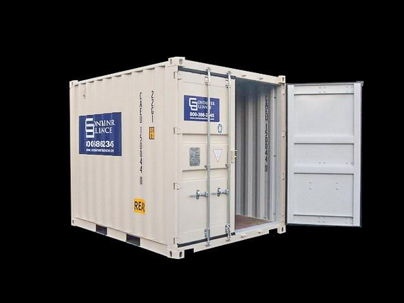 10' One Trip Container Open Door