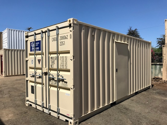 Ductless Mini Split HVAC Container Exterior