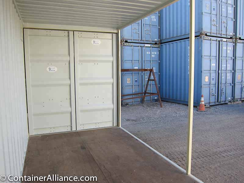 20' High Cube Container Conference Room Inside
