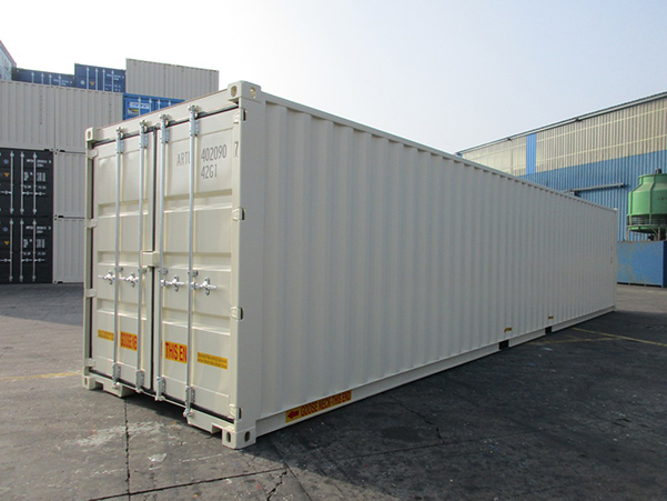 40' High Cube Double Door One Trip Container