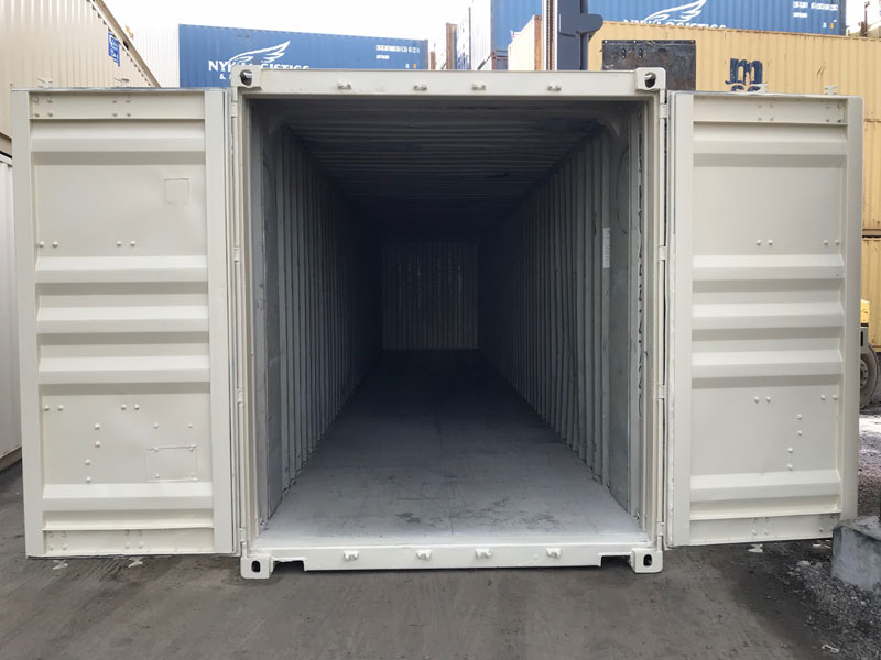 45' High Cube Refurbished Container Open
