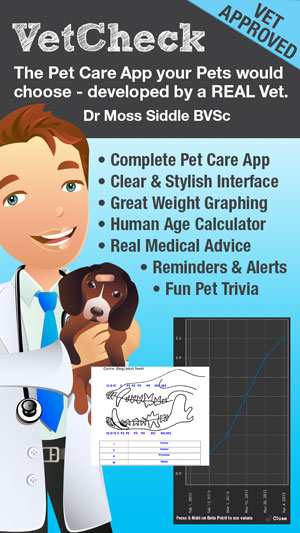 Features of VetCheck
