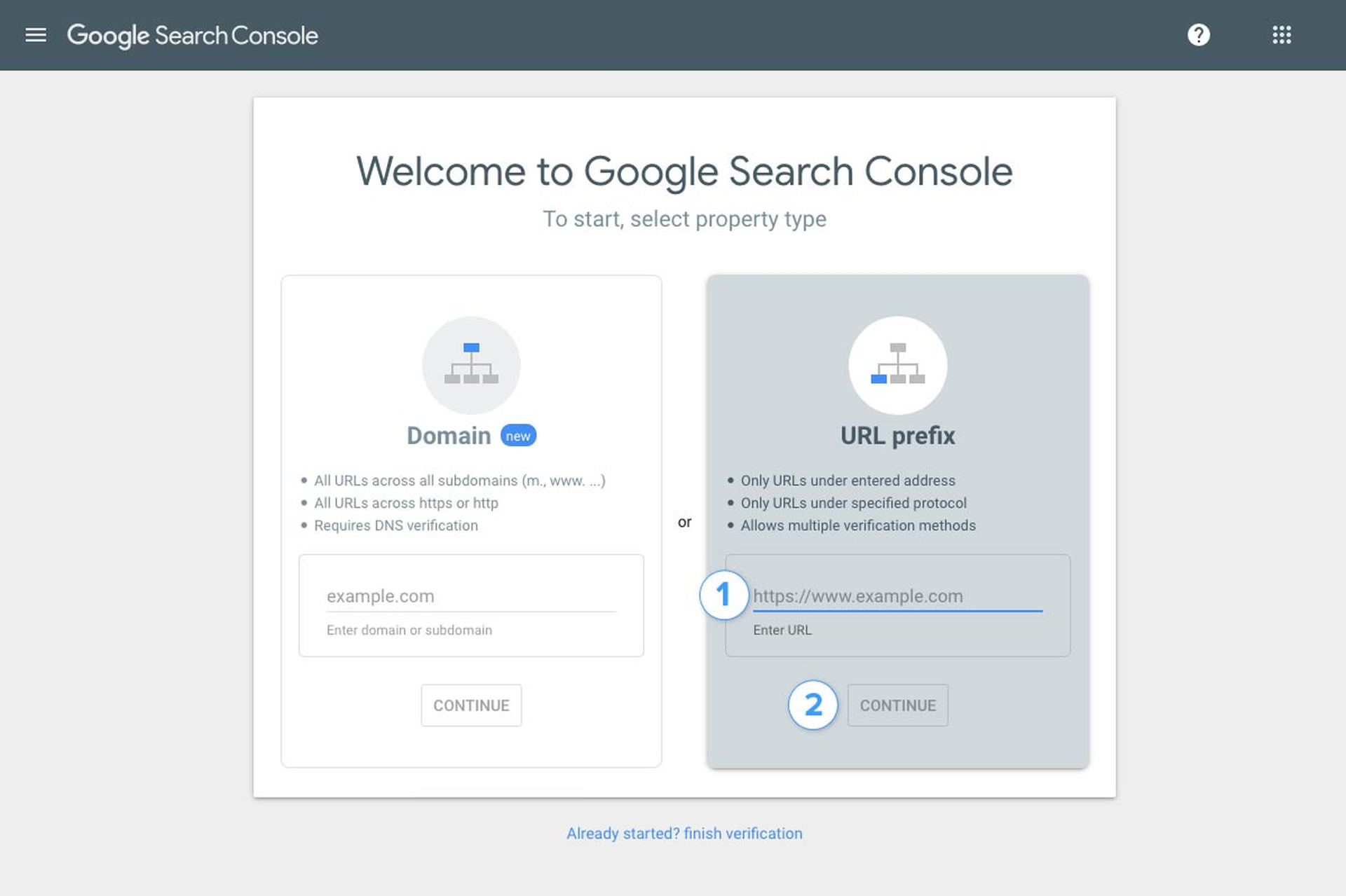 Submitting your website to Google