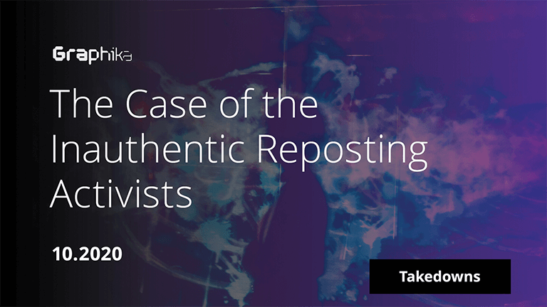 The Case of the  Inauthentic Reposting Activists image