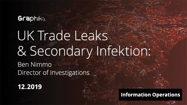 UK Trade Leaks and Secondary Infektion image