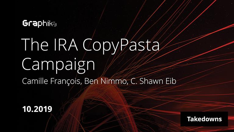 The IRA CopyPasta Campaign image