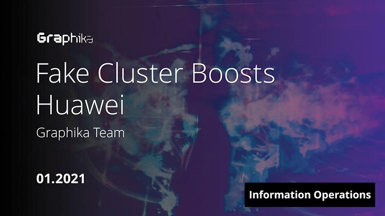 Fake Cluster Boosts Huawei image